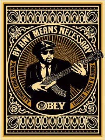 OBEY: Shepard Fairey, By Any Means Necessary