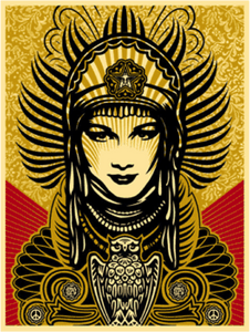 Obey: Shepard Fairey, Peace Goddess