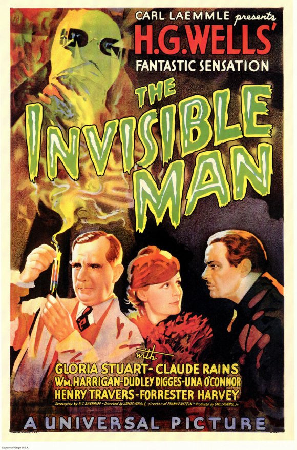 The Invisible Man – Frame of Mind Art