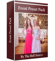 Event Lightroom Preset Pack