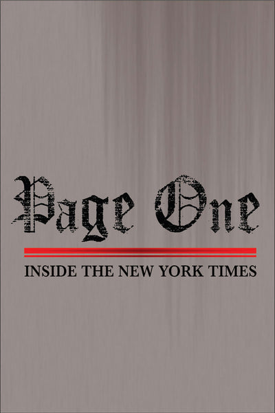 Page One: Inside The New York Times - Book a Screening