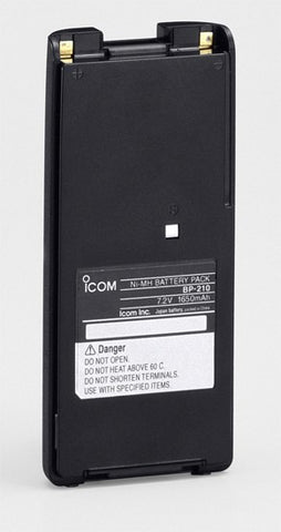 ICOM BP210N LI-ION BATTERY - 1650 mAh - AirTime Communications - 1