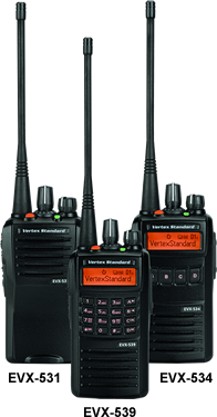 Vertex  EVX-530 Series Portable Radio - AirTime Communications - 1