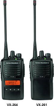 Vertex VX-260 Series Portable Radio - AirTime Communications