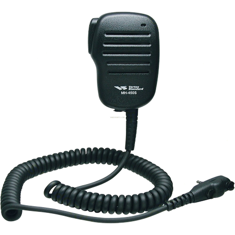 Vertex MH-450S Medium-Duty Speaker Microphone w/ Lapel Clip and 3.5mm Ear Phone Jack - AirTime Communications