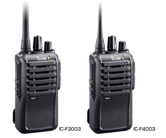ICOM F3003 & F4003 - AirTime Communications - 1