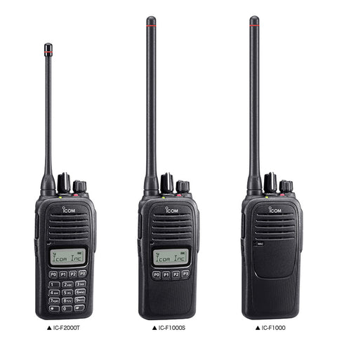 ICOM IC-F1000 VHF Portable Radio - AirTime Communications