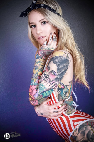 12X18 Poster - Tattoo Model Alexandra Hart