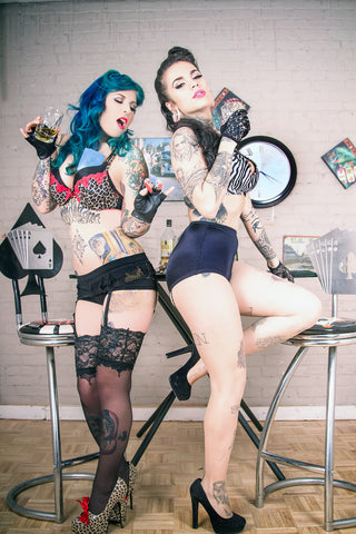 12X18 Poster - Tattoo Model Amy Bathory