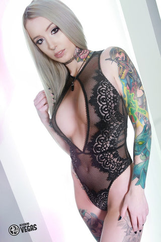 12X18 Poster - Tattoo Model Sarah Brooke Sinclair