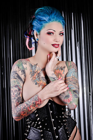 12X18 Poster - Tattoo Model Scarlett Lash