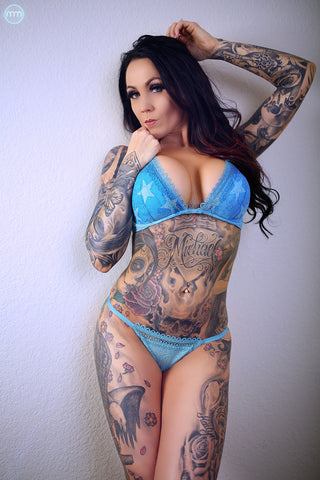 2 Pack! 12x18 Posters of Tattoo Model Tysha Schmitz