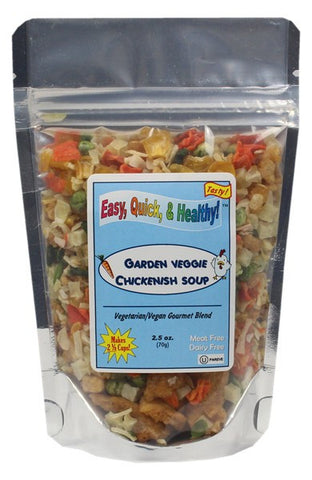 Garden Veggie Chicken Flavored Soup (Dehydrated - 2.5oz)