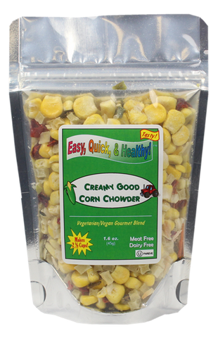 Sweet Corn Chowder (Dehydrated - 1.6oz)