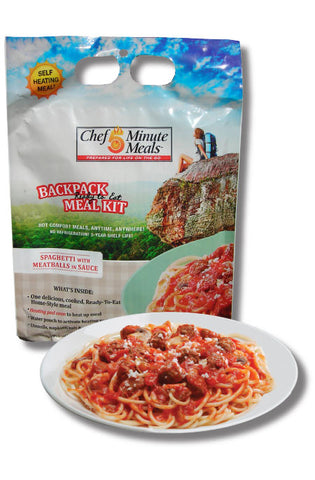Spaghetti with Meatballs (Shelf Stable - 9oz)
