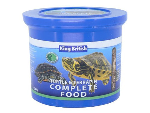 King British Turtle & Terrapin Food 200gm
