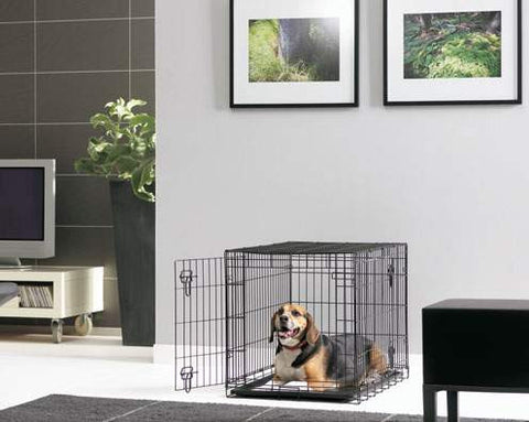 Savic Fold Flat Dog Crate Large 91cm