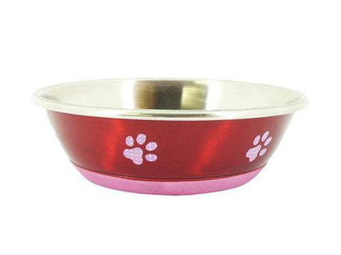 Super Fusion Red Fashion Dog Bowl 350ml