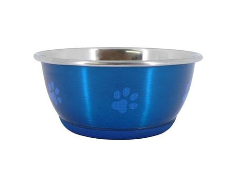 Super Fusion Blue Fashion Dog Bowl 500ml