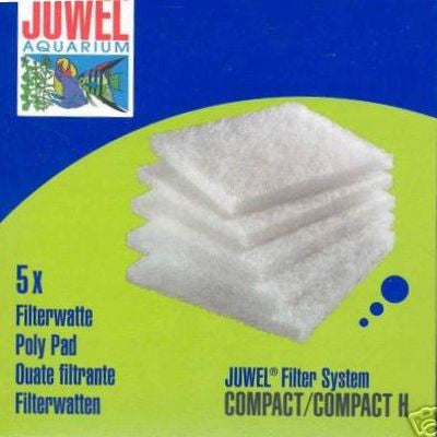 Juwel Wool Filter Poly Pad Compact 5 Pack