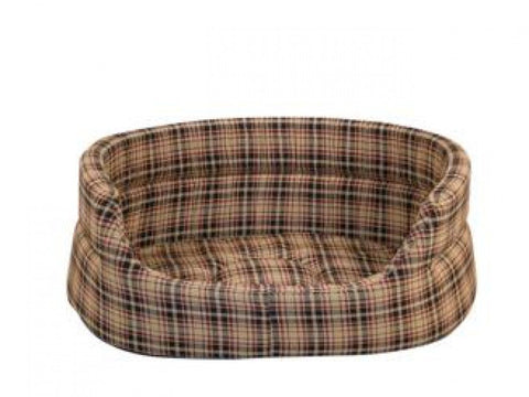 CLASSIC CHECK SLUMBER PET BED SIZE: 45 CM