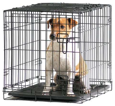 SAVIC FOLD FLAT DOG CRATE 61