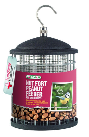 GARDMAN NUT FORT PEANUT FEEDER