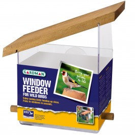 GARDMAN WINDOW BIRD FEEDER
