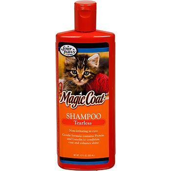 four paws magic coat tearless shampoo 12oz