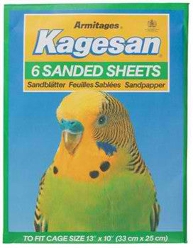 KAGESAN NO4 GREEN SAND SHEETS 13 X 10