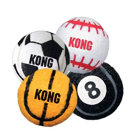 KONG SPORTS BALL MEDIUM 3PK