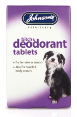JOHNSONS BITCH AND DEODORANT TABLET