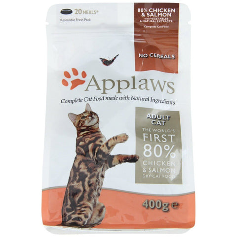 APPLAWS CAT 400G SALMON