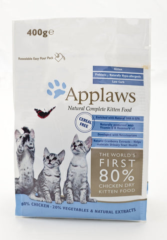 APPLAWS KITTEN 400G CHICKEN