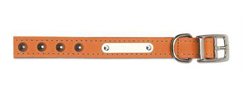 ANCOL S1 SEWN STUDDED COLLAR TAN 12""