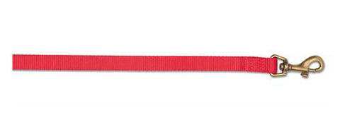 "ANCOL NYLON LEAD 1/2""x42"" RED"