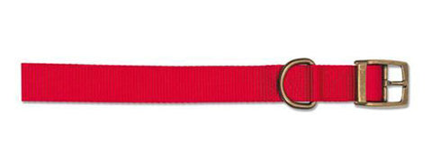"ANCOL S1 NYLON COLLAR 12"" RED"