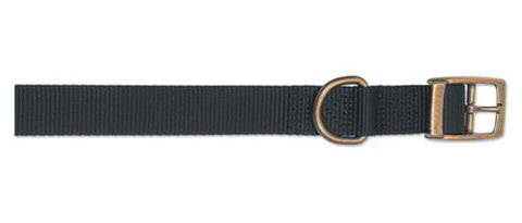 "ANCOL S2 NYLON COLLAR 14"" BLACK"