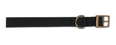 ANCOL S1 NYLON COLLAR BLACK 12""