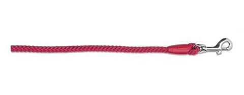 "ANCOL RED SOFTWEAVE ROPE SLIP LEAD 48""x12mm"