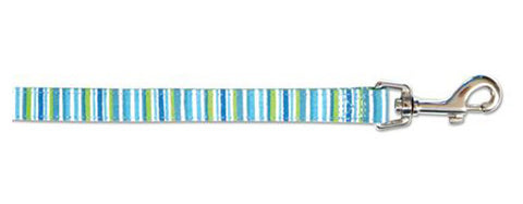 ANCOL OCEAN STRIPE DOG LEAD 3/4x40""