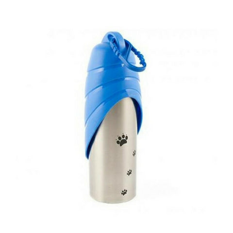 Ancol 750ml Stainless Steel Travel Water Bottle