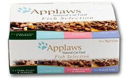 APPLAWS MULTIPACK CAT FISH SELECTION 12X70GM