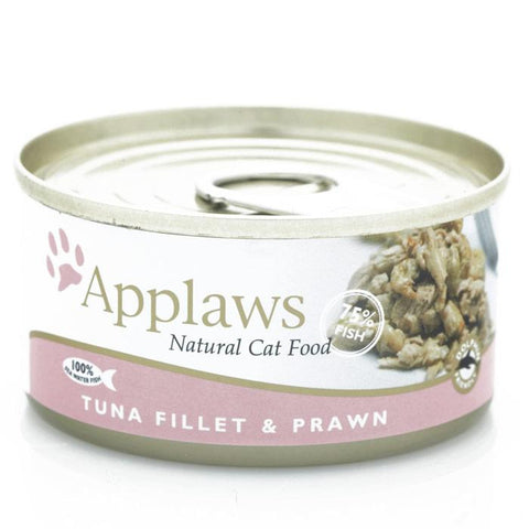APPLAWS TUNA & PRAWN 156GM CAT FOOD