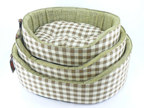 Athenia Green Check Bed