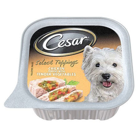 CESAR FOIL TOPPING CHICKEN 100G