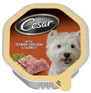 CESAR FOIL CHICKEN/TURKEY 150G