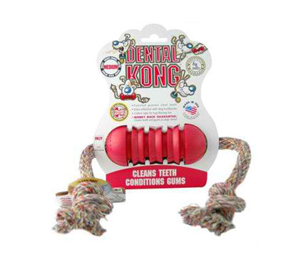 DENTAL KONG TOY RED SML