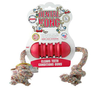 DENTAL KONG TOY RED SMALL