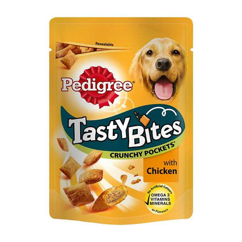Pedigree Tasty Bites Crunchy Pockets with Chicken